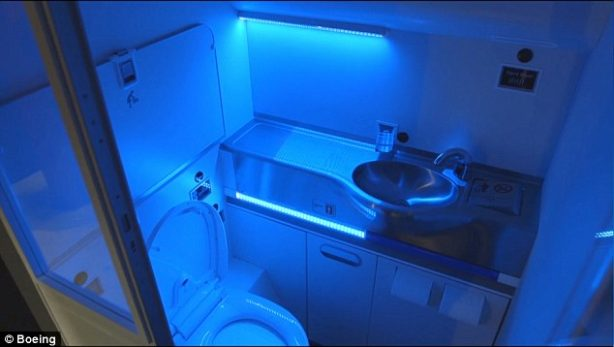 Did you know UV lamps could be used in airplane lavatories?