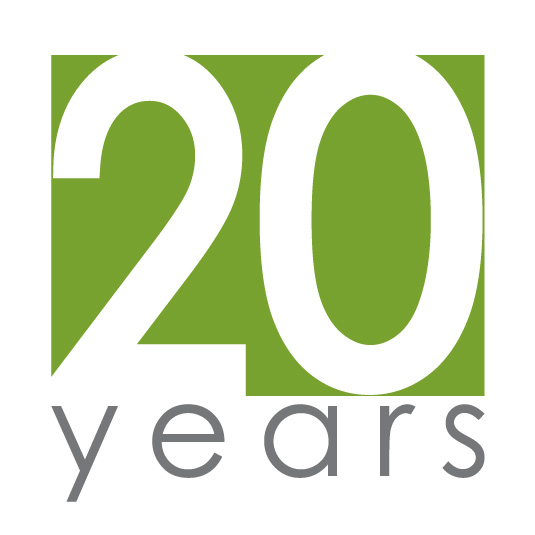 We Are Celebrating Our 20th Anniversary!